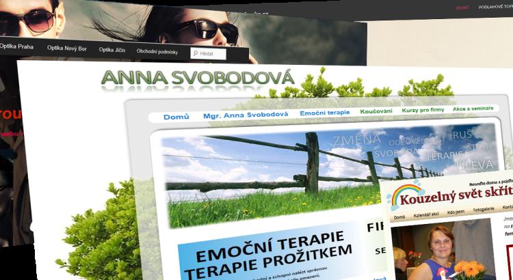 Tvorba webových stránke